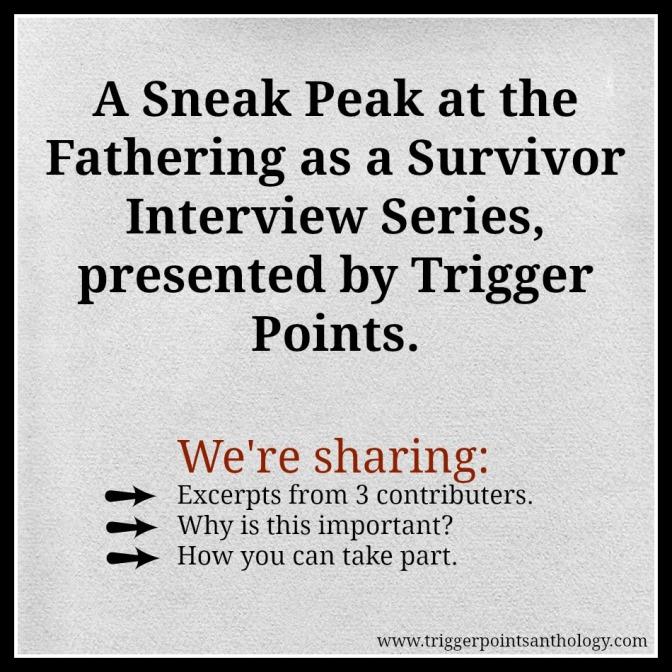 Male Survivors to Speak About Fatherhood.