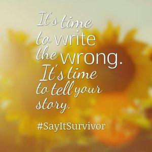 say-it-survivor